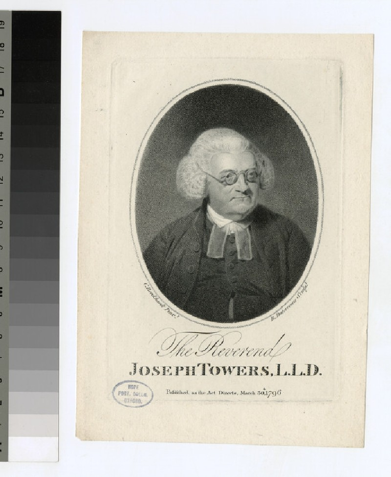 Portrait of J. Towers