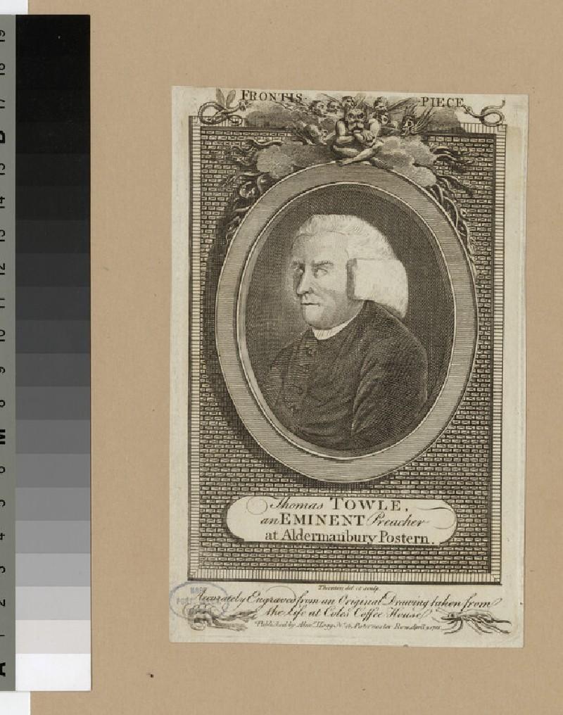 Portrait of T. Towle