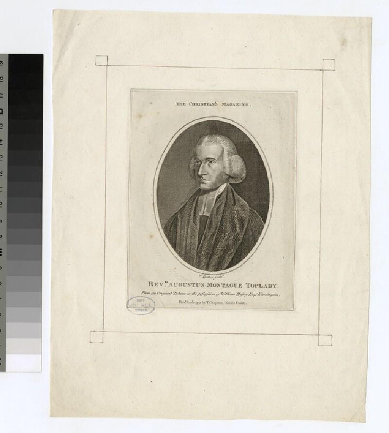 Portrait of A. M. Toplady