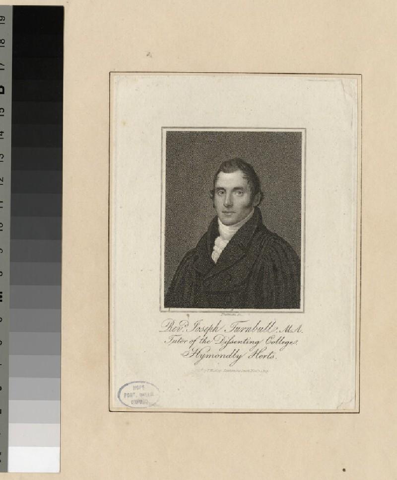 Portrait of J. Turnbull (WAHP25610)