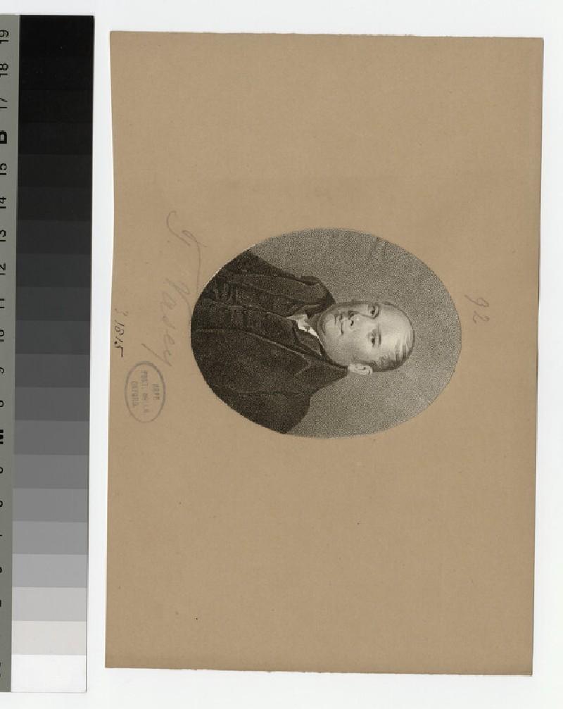 Portrait of T. Vasey
