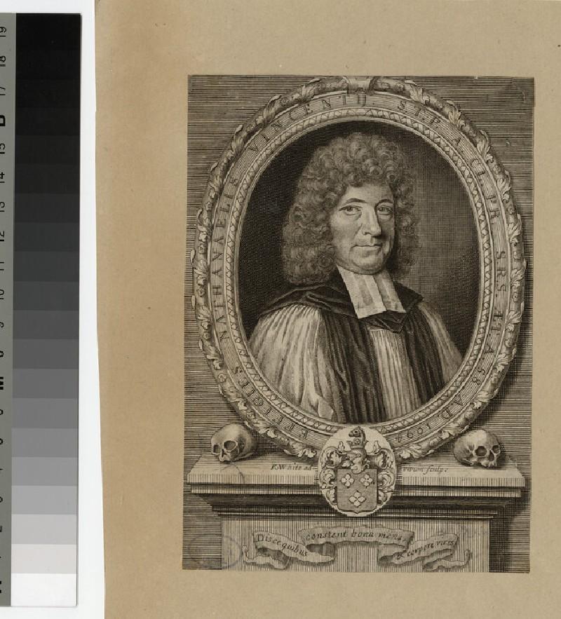 Portrait of Revd Dr N. Vincent (WAHP25672)