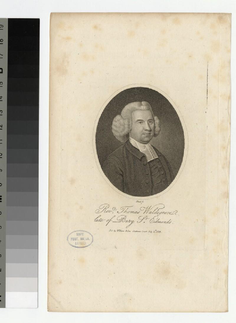 Portrait of T. Waldegrave