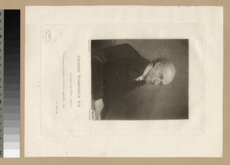 Portrait of G. Wakefield (WAHP25676)