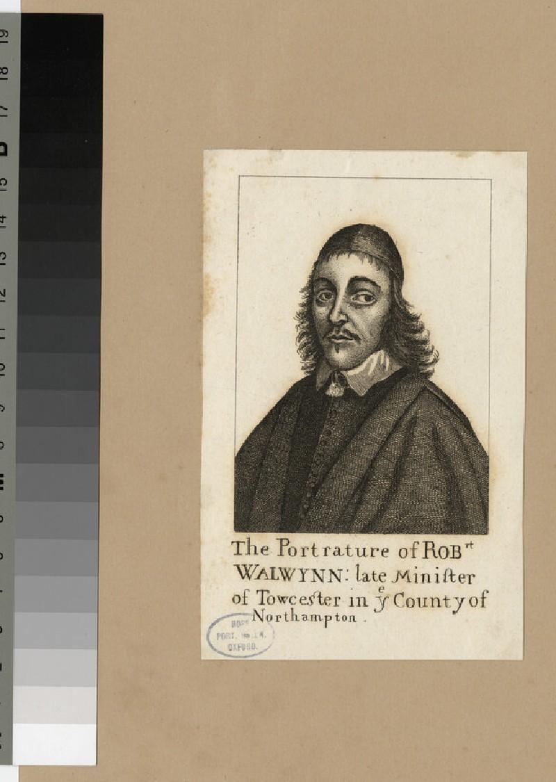 Portrait of R. Walwyn