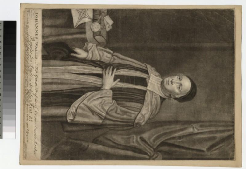 Portrait of J. Wallis