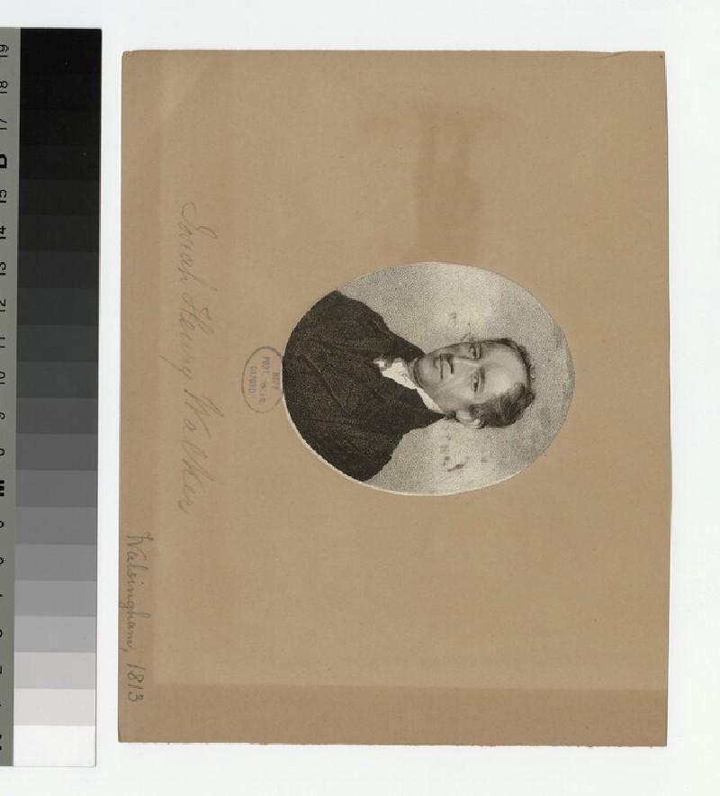 Portrait of J. H. Walker