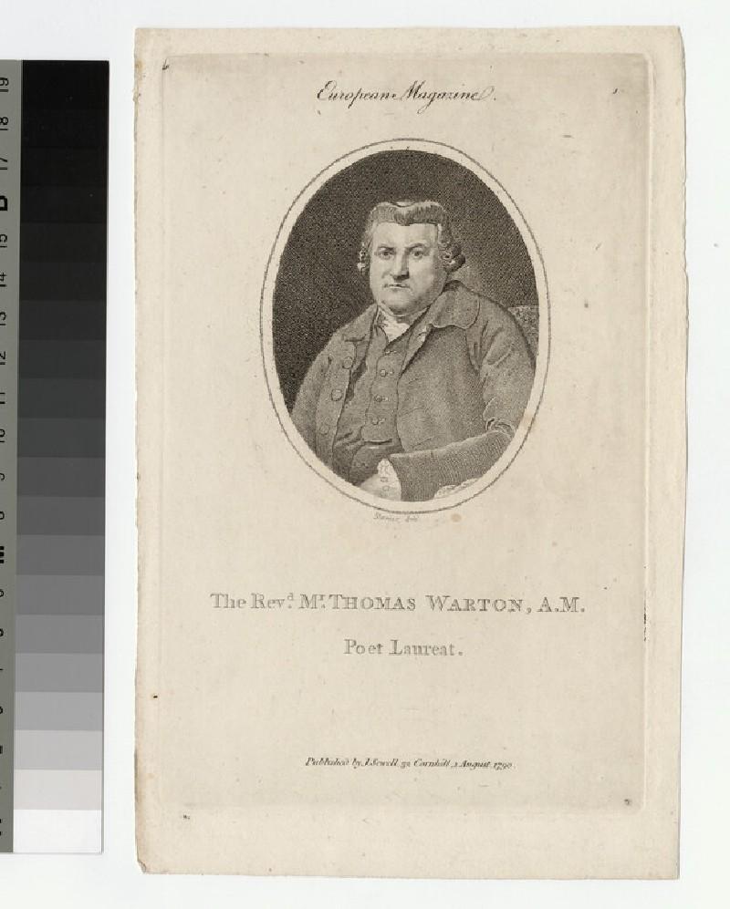 Portrait of Revd T. Wharton
