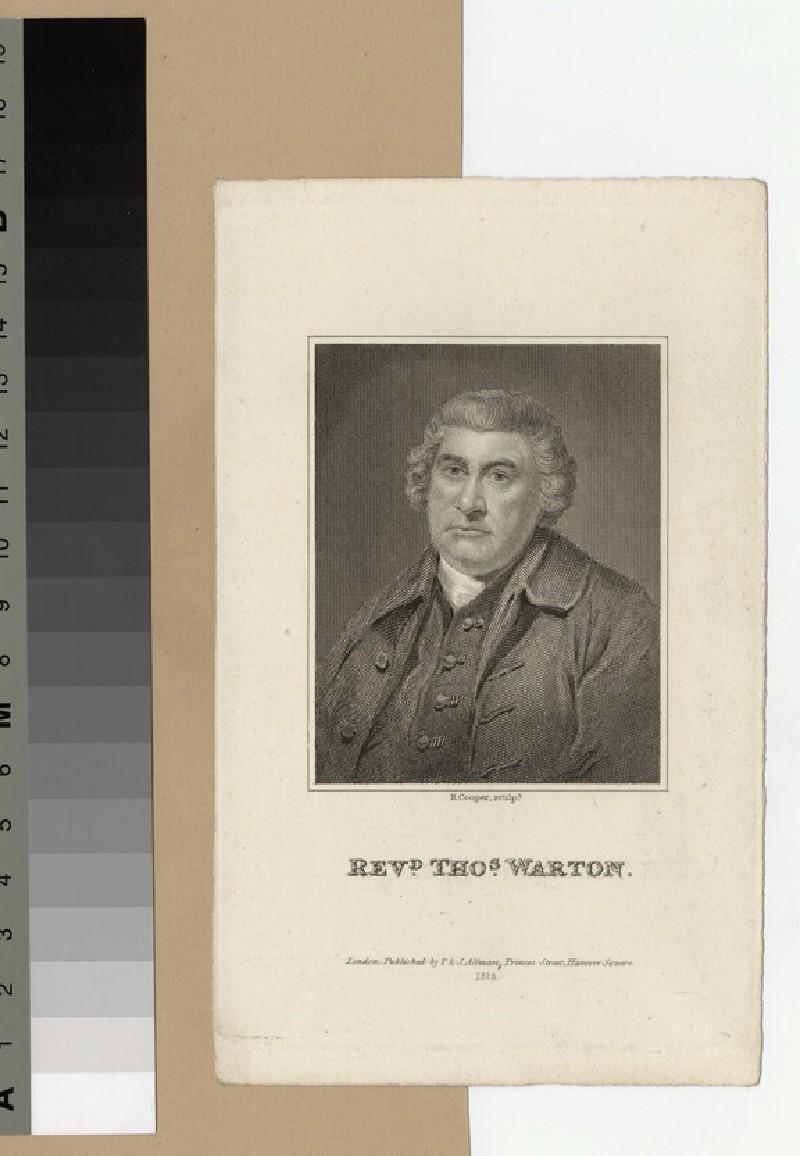 Portrait of Revd T. Warton