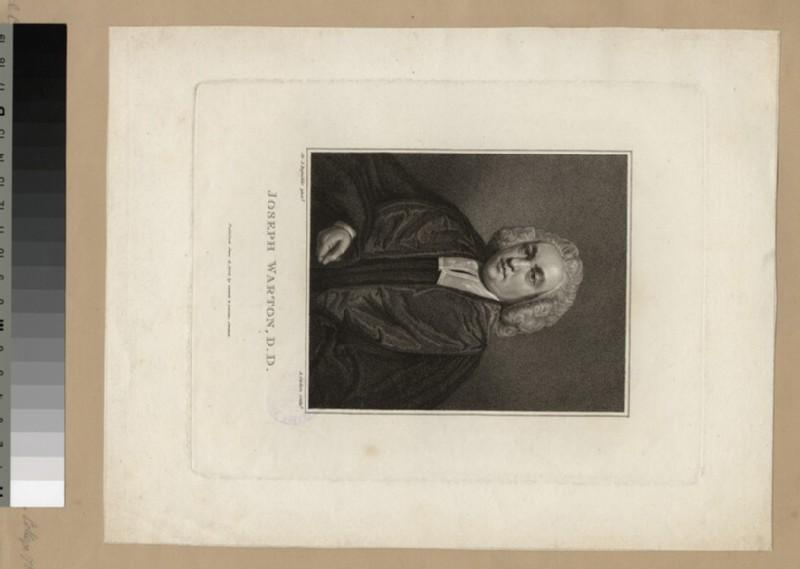 Portrait of Revd Dr Joseph Warton