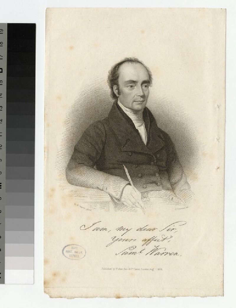 Portrait of S. Warren (WAHP25731)