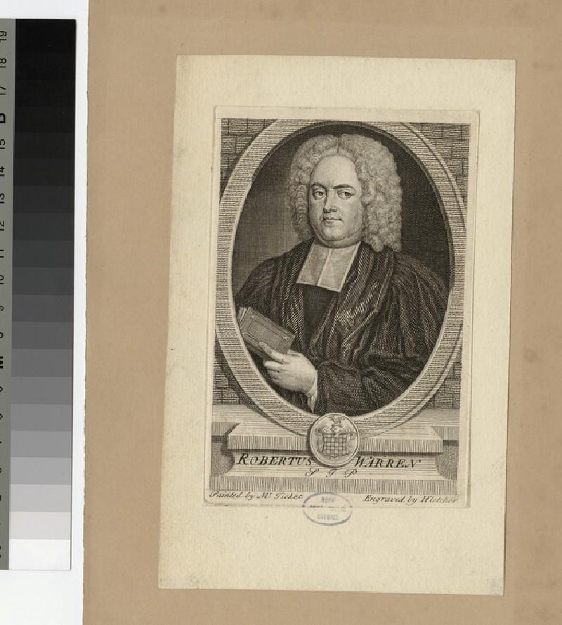 Portrait of R. Warren