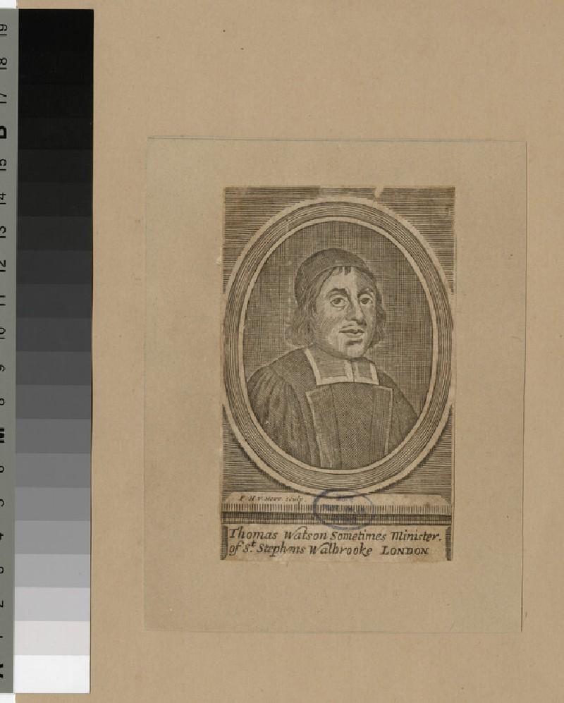Portrait of Revd T. Watson (WAHP25758.1)