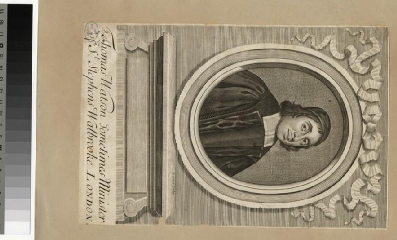 Portrait of Revd T. Watson (WAHP25759)