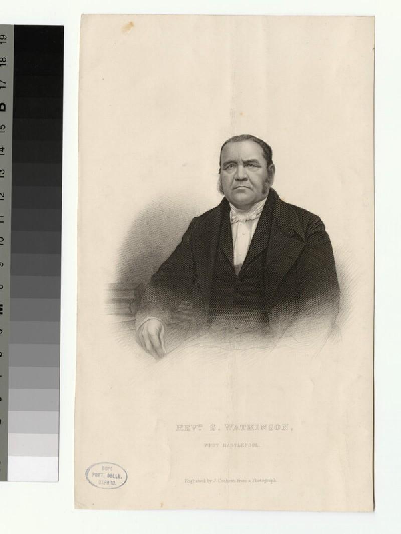 Portrait of S. Watkinson