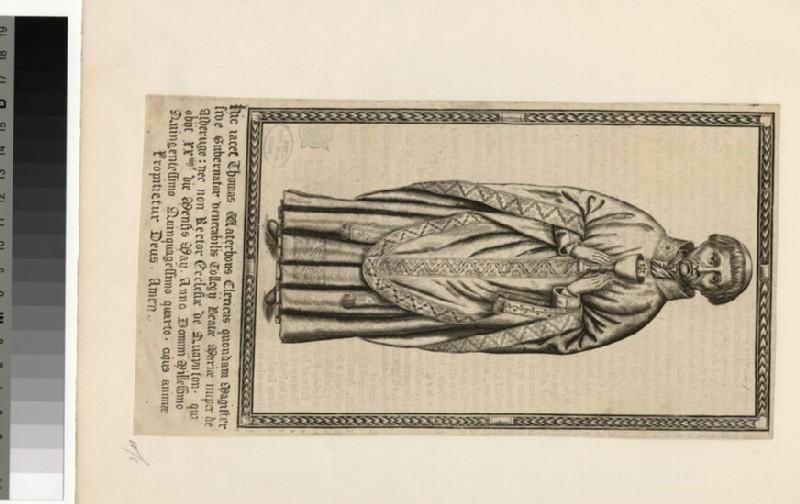 Portrait of T. Waterhous