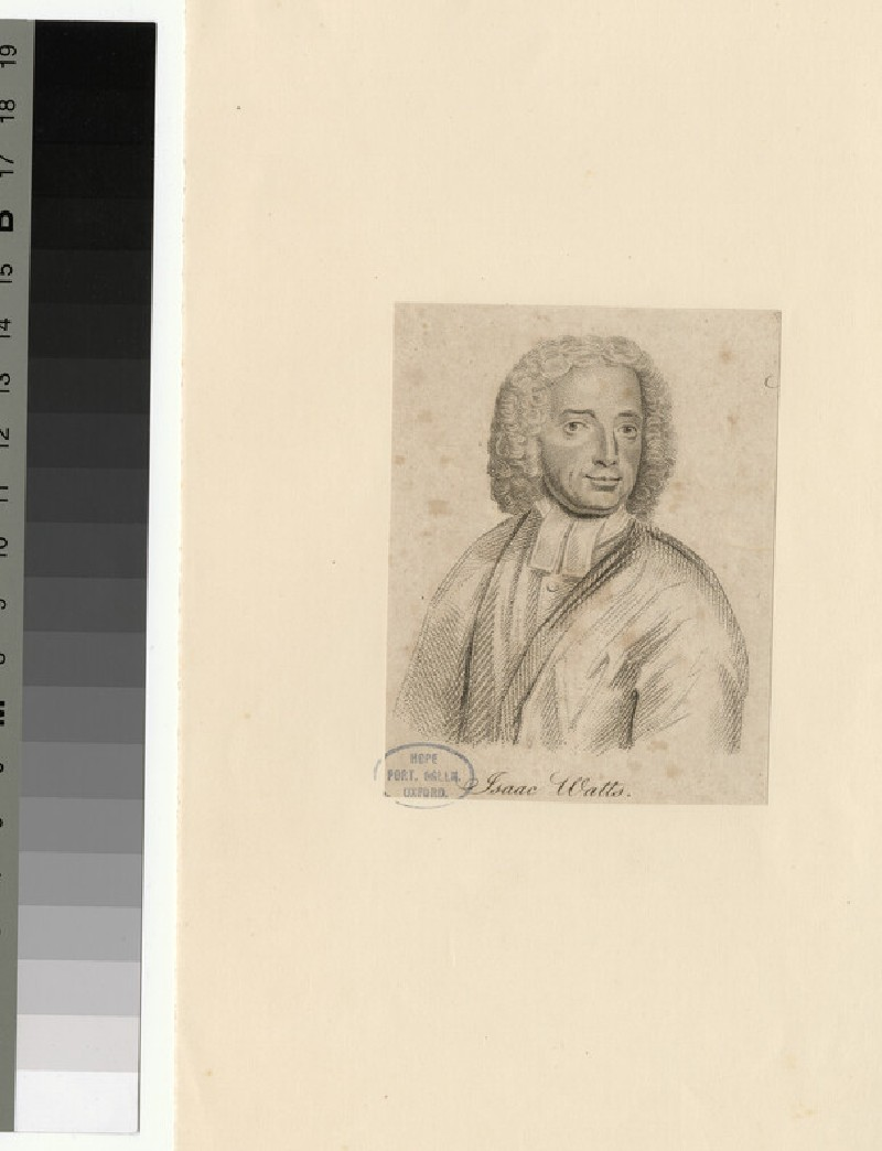 Portrait of I. Watts (WAHP25789)