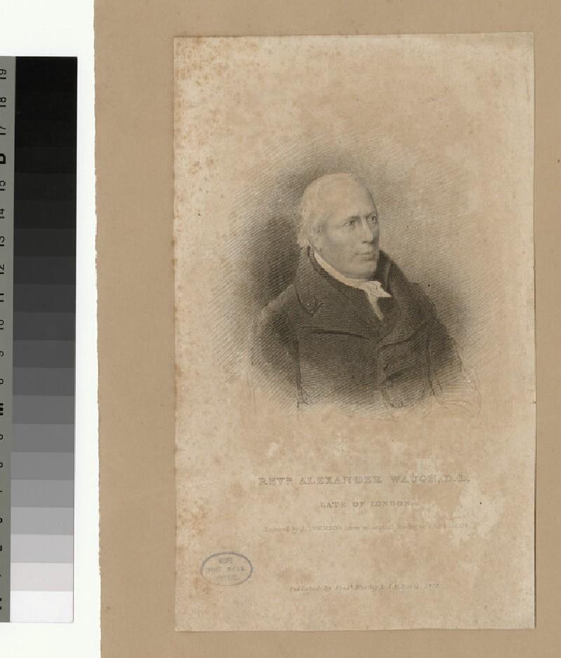 Portrait of A. Waugh