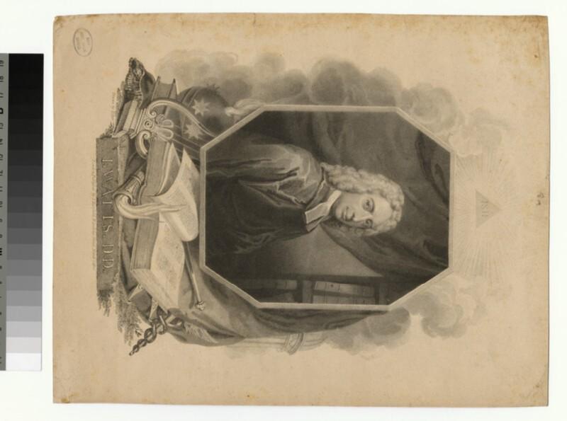 Portrait of I. Watts (WAHP25845)