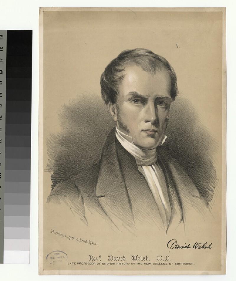 Portrait of D. Welsh