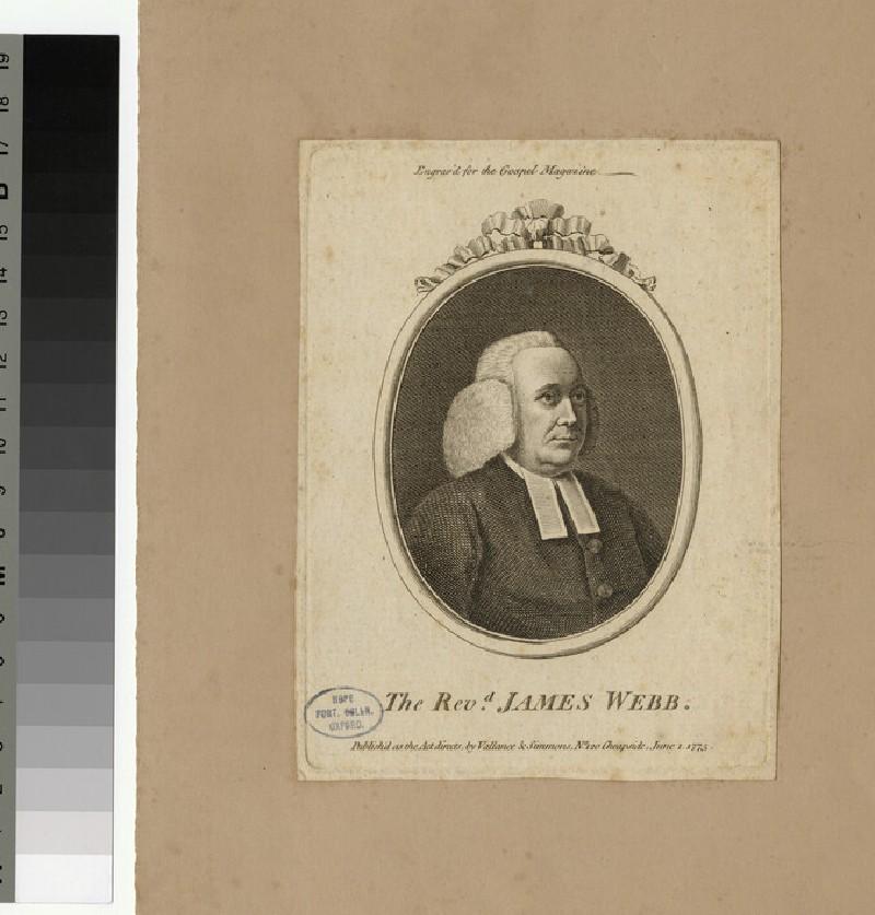 Portrait of J. Webb (WAHP25863)