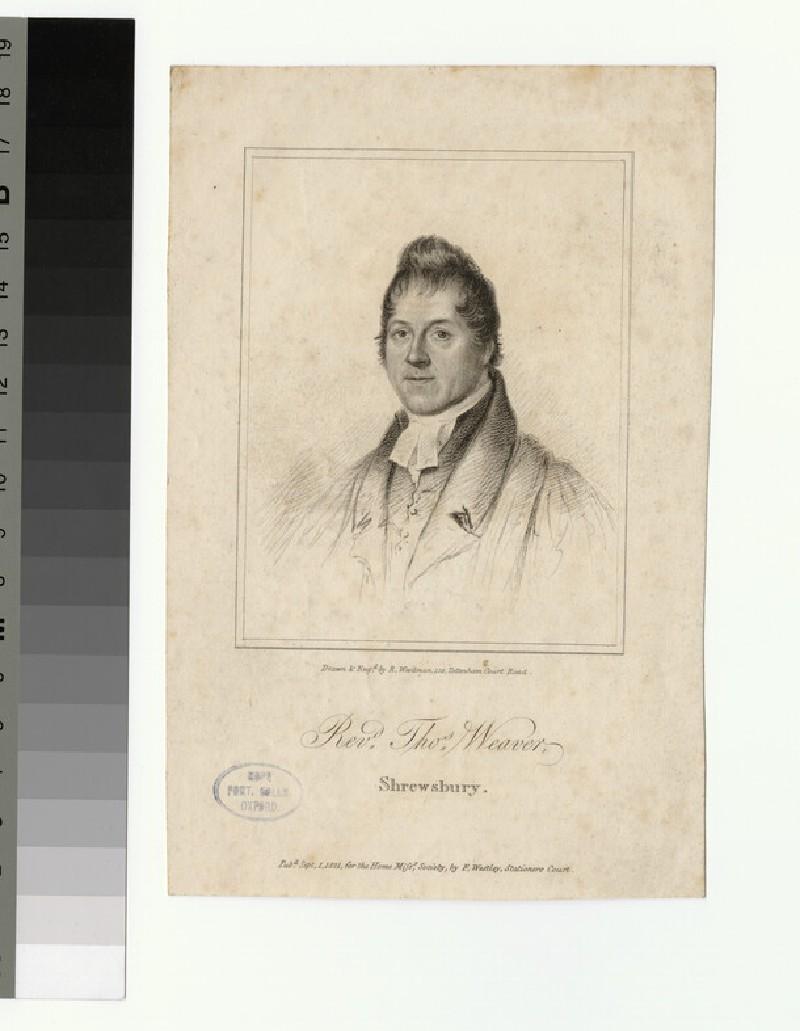 Portrait of T. Weaver