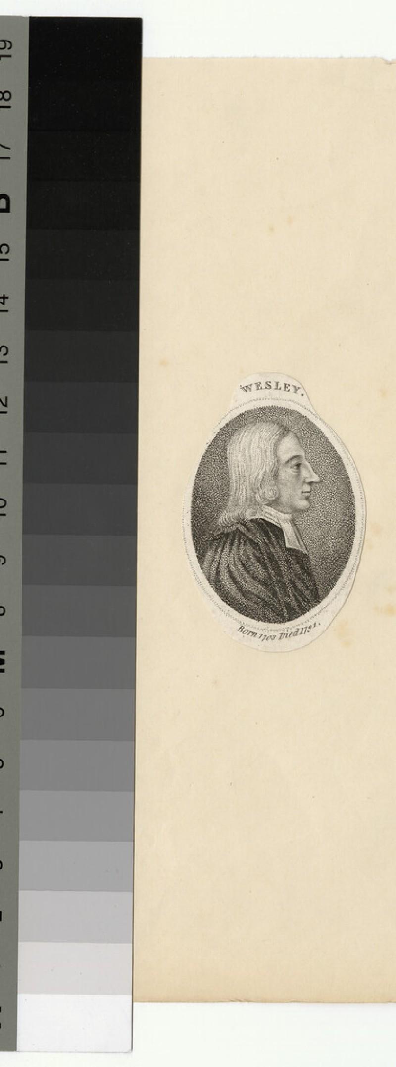 Portrait of J. Wesley