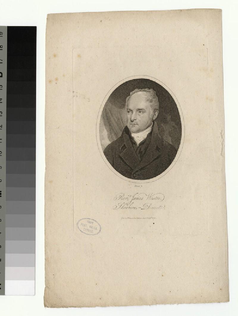 Portrait of J. Weston (WAHP25909)