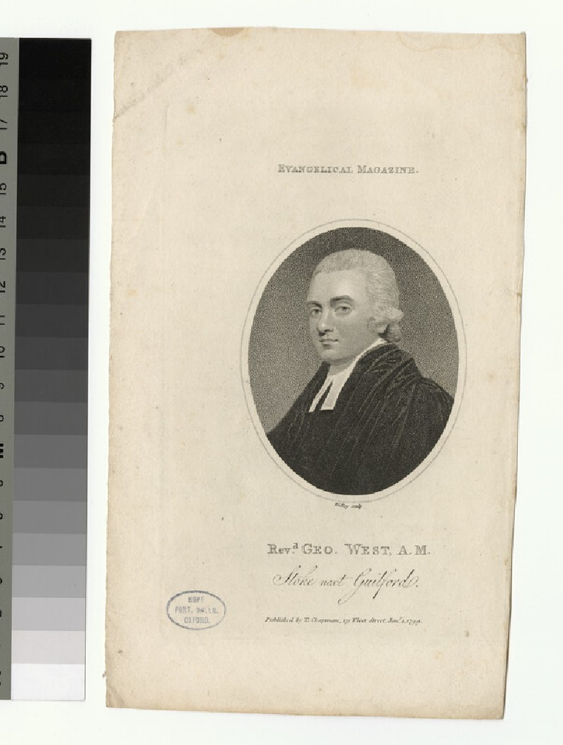 Portrait of G. West (WAHP25913)
