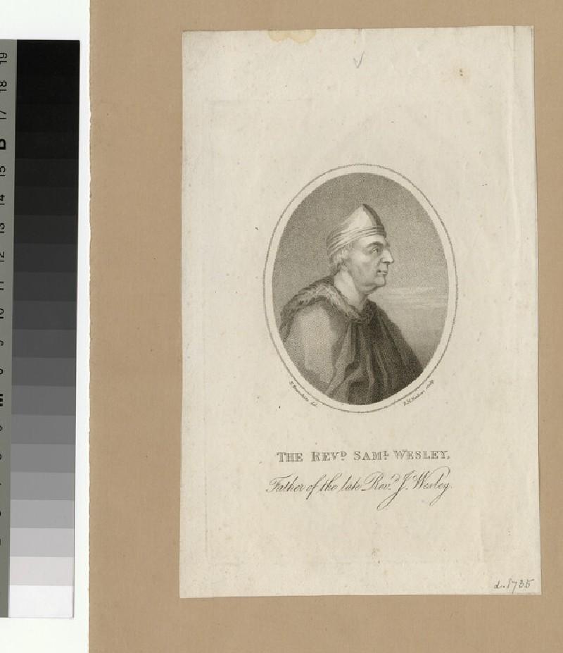 Portrait of Samuel Wesley the Elder (WAHP25917)