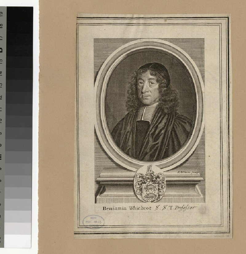 Portrait of B. Whichcote