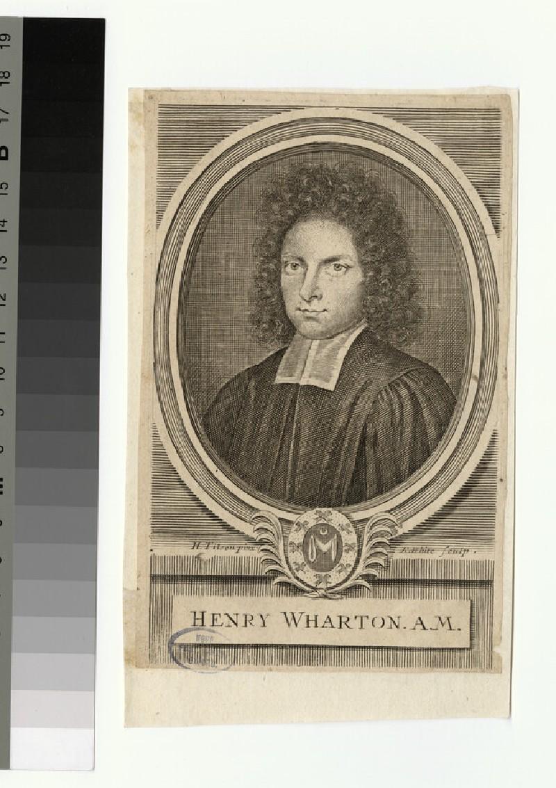 Portrait of Revd H. Wharton (WAHP25942.1)