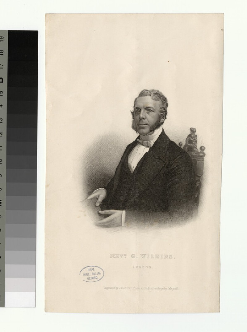Portrait of G. Wilkins (WAHP26003)