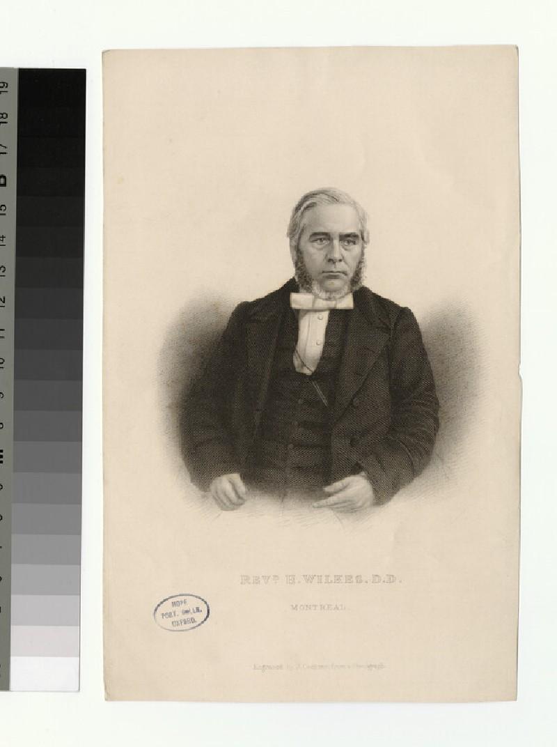 Portrait of H. Wilkes