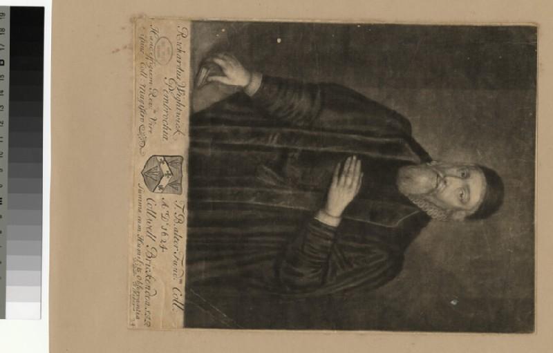Portrait of R. Wightwick (WAHP26009.1)