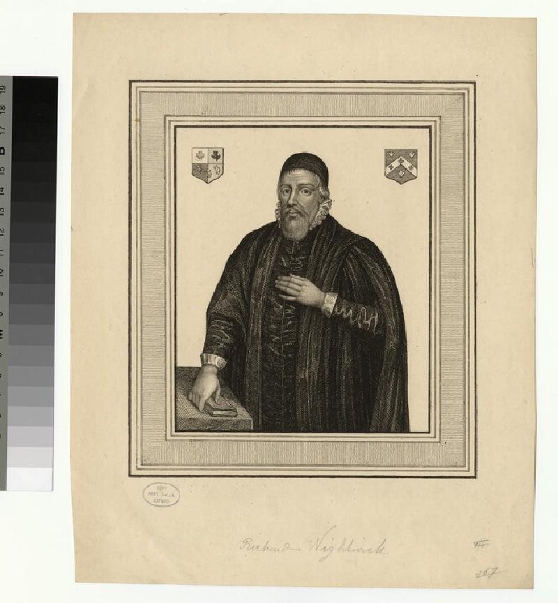 Portrait of R. Wightwick