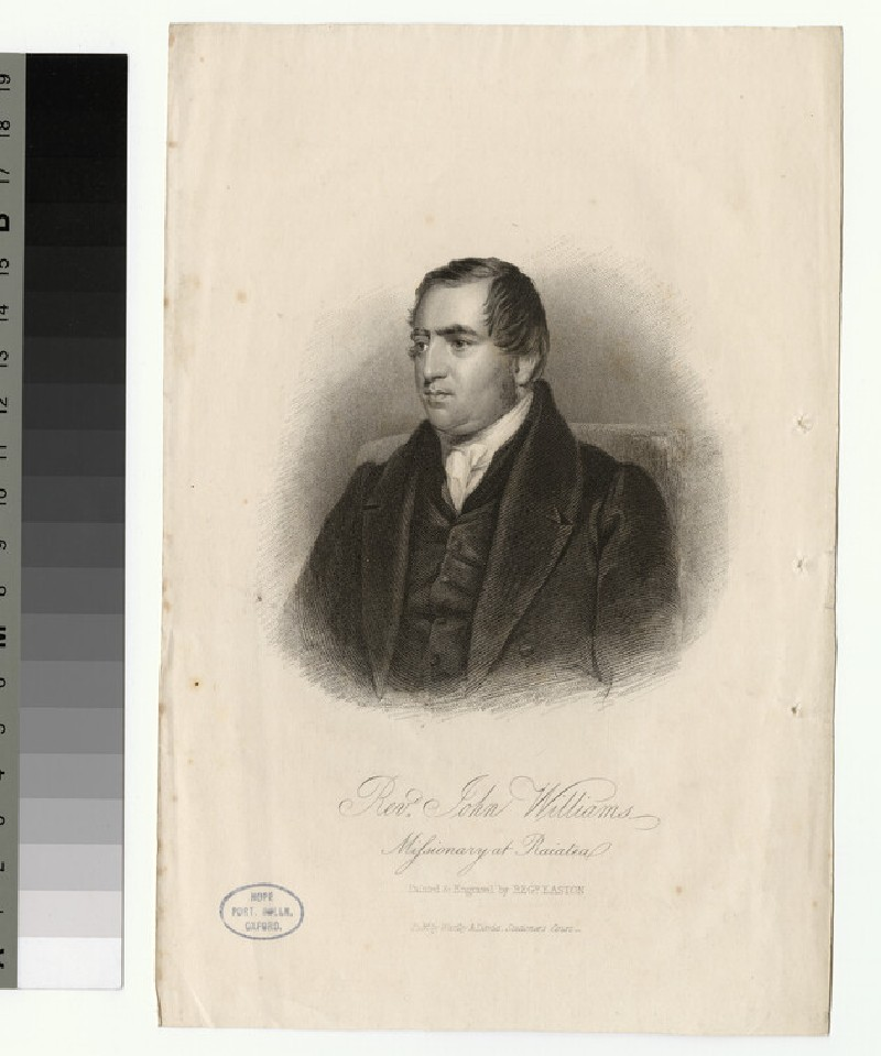 Portrait of J. Williams (WAHP26047)