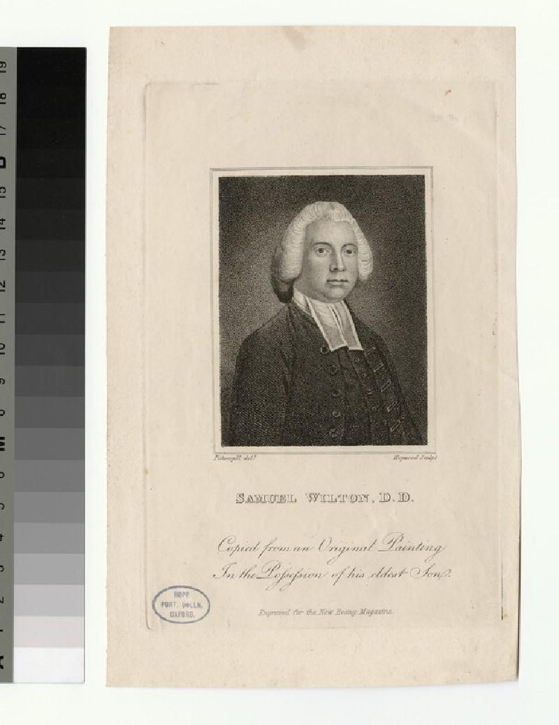 Portrait of S. Wilton