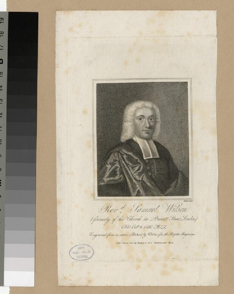 Portrait of Samuel Wilson