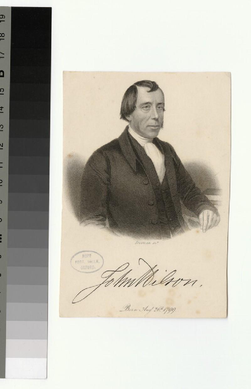 Portrait of J. Wilson (WAHP26083)
