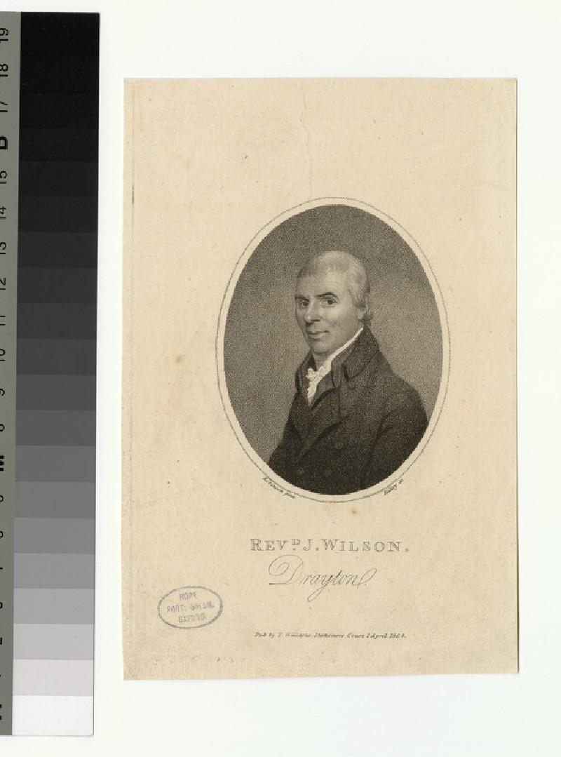 Portrait of J. Wilson (WAHP26086)