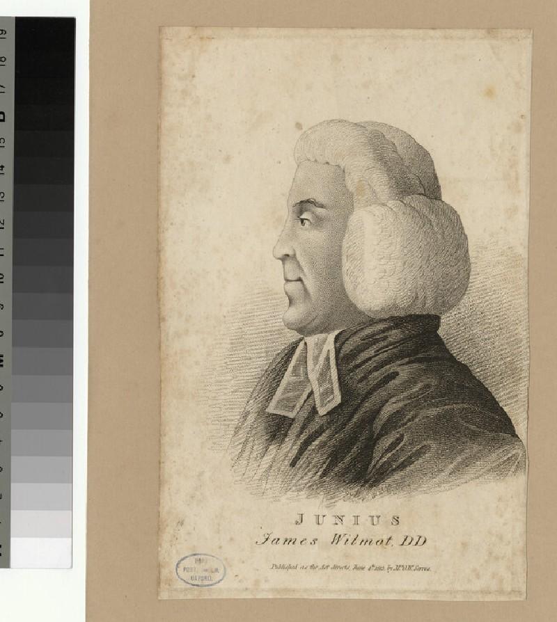 Portrait of J. Wilmot