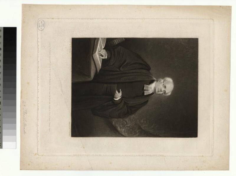 Portrait of B. Woodd