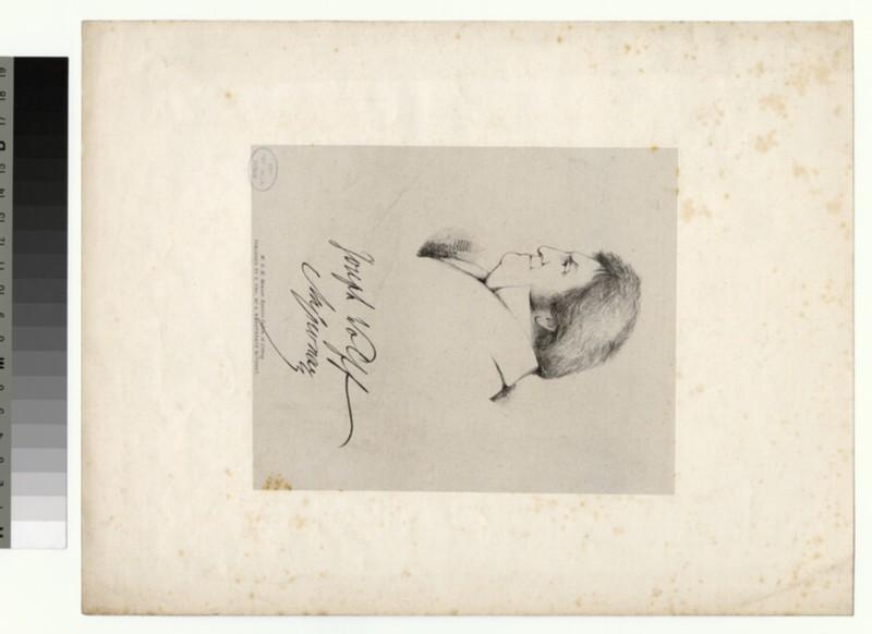 Portrait of Joseph Wolff (WAHP26116)