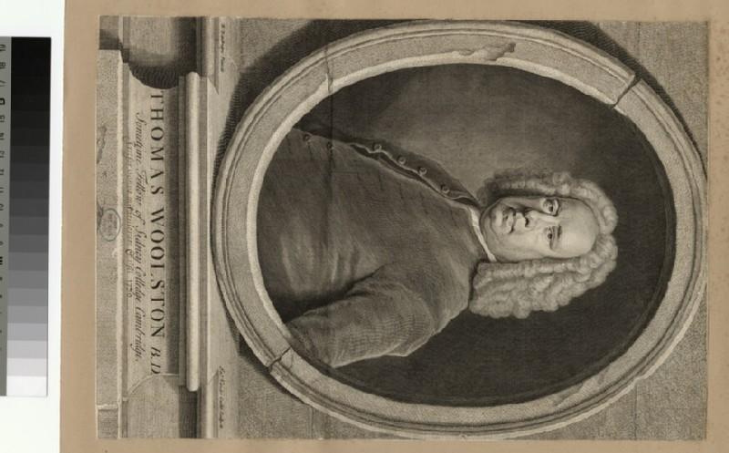 Portrait of T. Woolston