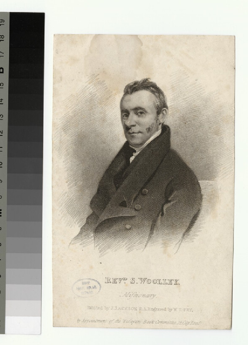 Portrait of S. Wooley (WAHP26126)