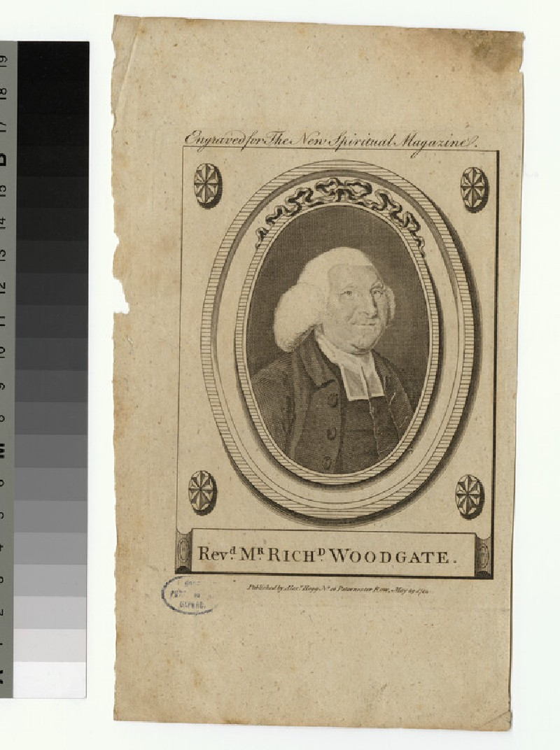 Portrait of R. Woodgate (WAHP26137)