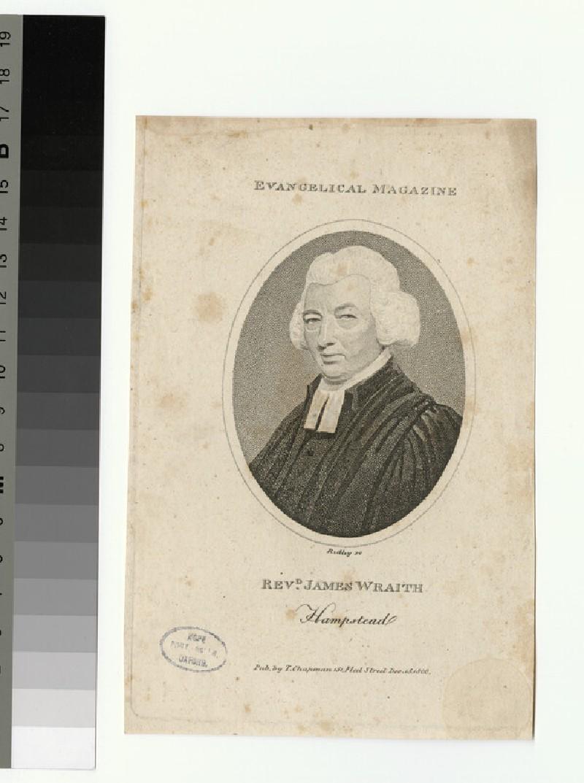 Portrait of James Wraith
