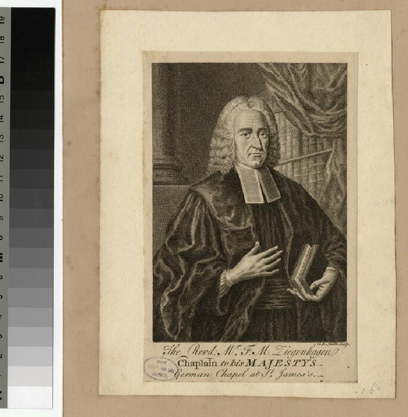 Portrait of F. M. Ziegenhagen