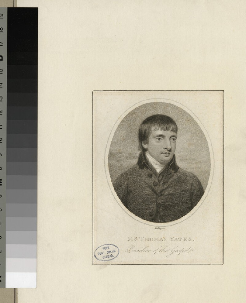 Portrait of T. Yates (WAHP26248)